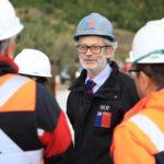 Ministro Fontaine visitó la región e inspeccionó obras: No hubo nuevos anuncios para la zona
