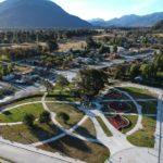 """Inauguran nueva """"Plaza Cívica"""" en la localidad de Bahía Murta"""