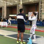Coyhaiquina logró medalla de bronce en Panamericano de Esgrima