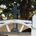 Por resolución sanitaria Cementerios de la región permanecerán cerrados este fin de semana