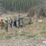Cinco personas lesionadas dejó accidente de tránsito camino a Puerto Aysén