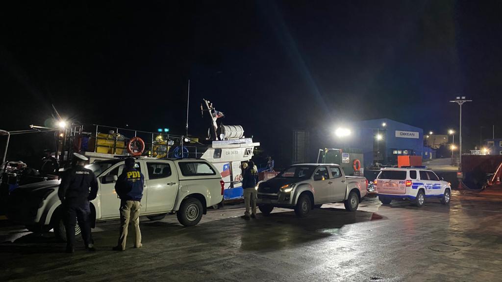 Investigan homicidio frustrado ocurrido a bordo de embarcación en alta mar