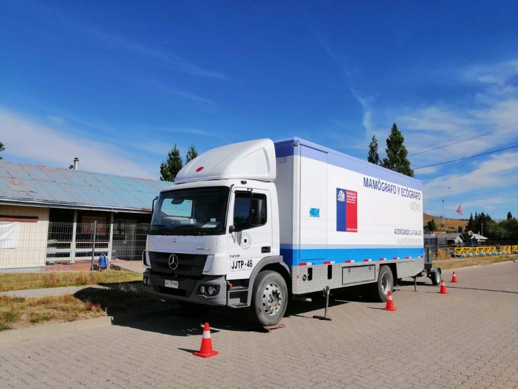 Mamógrafo móvil se trasladó hasta El Blanco beneficiando a 50 mujeres del sector