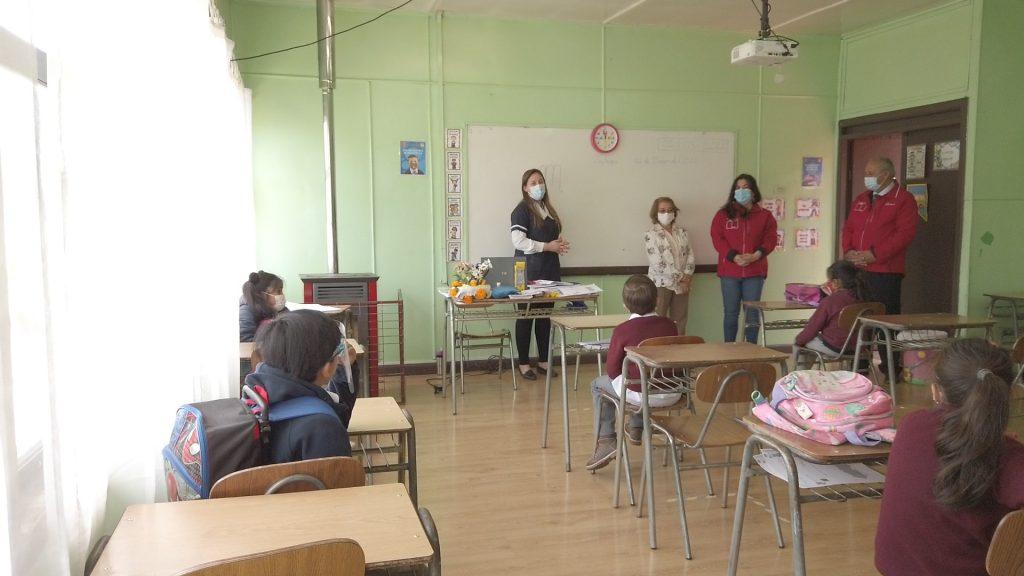 20 Colegios de la Región de Aysén partieron con clases presenciales este lunes
