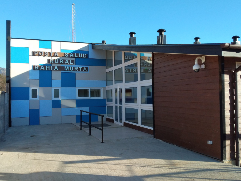 Inauguran nueva y equipada Posta de Salud Rural en Bahía Murta