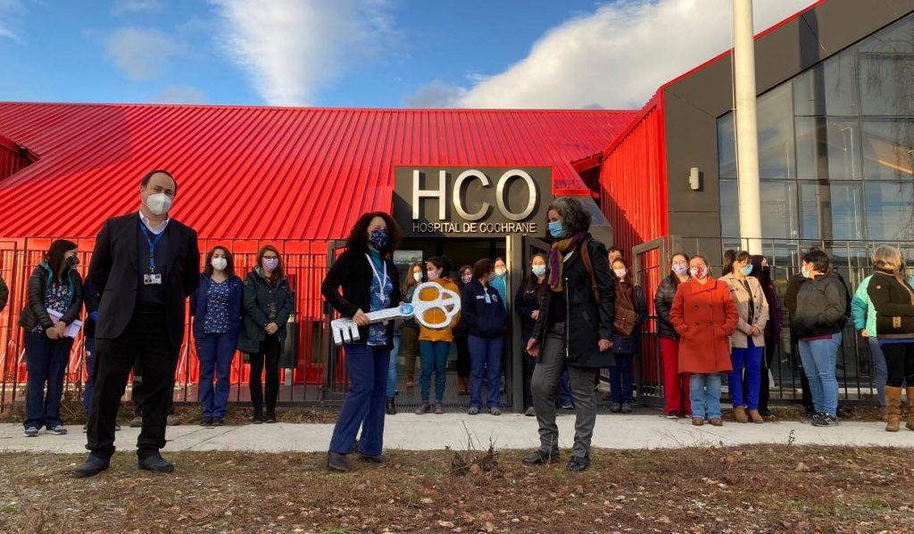 A un mes de su inauguración comenzó la puesta en marcha del nuevo Hospital de Cochrane
