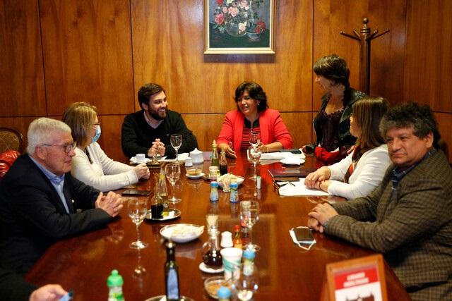 """Calisto y Alinco respaldaron la candidatura de Yasna Provoste: """"Está más cerca del pueblo"""""""