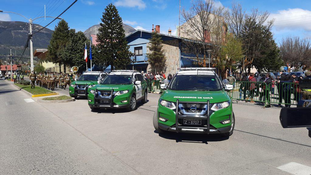 Con cinco nuevos vehículos Carabineros pretende aumentar patrullajes en la región