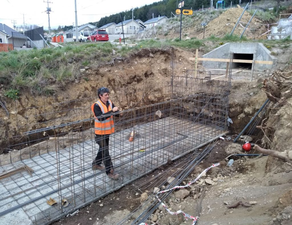 Continúan obras para prevención de aluviones en sector Cerro Divisadero